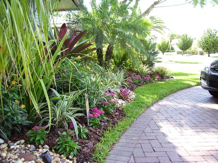 Front Yard Landscaping Plans Layout